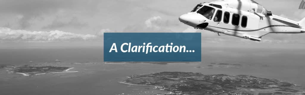 Clarification Header