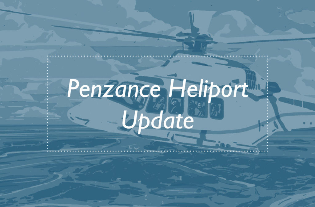 Penzance Heliport Will Provide Choice & Resilience